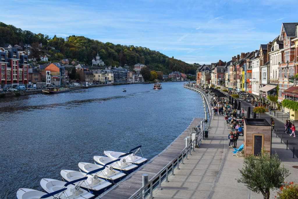 River Meuse, Dinant, Belgium - by Ben_Kerckx / pixabay.com