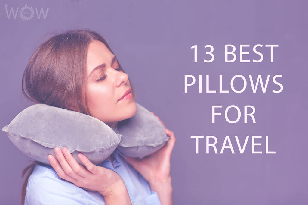 13 best pillows for travel 2021 wow