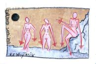 woytasik_art -original, signed oil pastel on paper , 280g 50 cm x 70 cm € 400