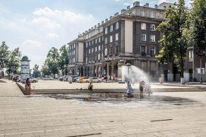 Plac Centralny. fot. Jerzy Woźniakiewicz