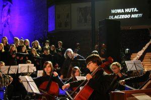 Koncert z cyklu Nowa Huta, kościół na Szklanych Domach. Dlaczego nie?! fot. Jerzy Woźniakiewicz