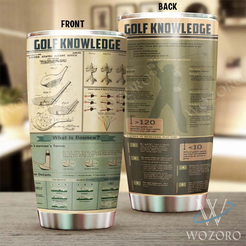 wozoro thermo tumbler golf knowledge