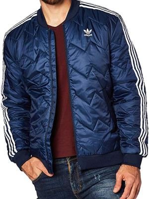 adidas Men's Sst Quilted Jacket
