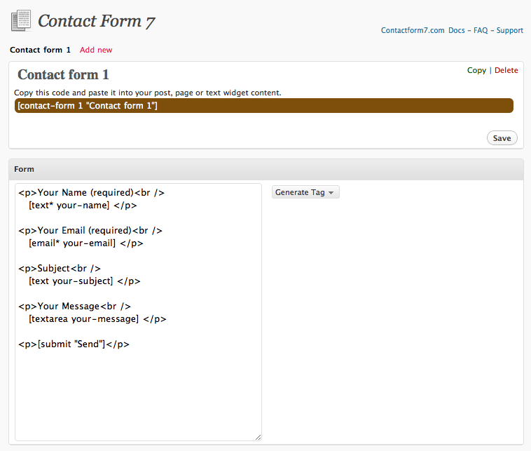 Contact Form 7 Easy FancyBox