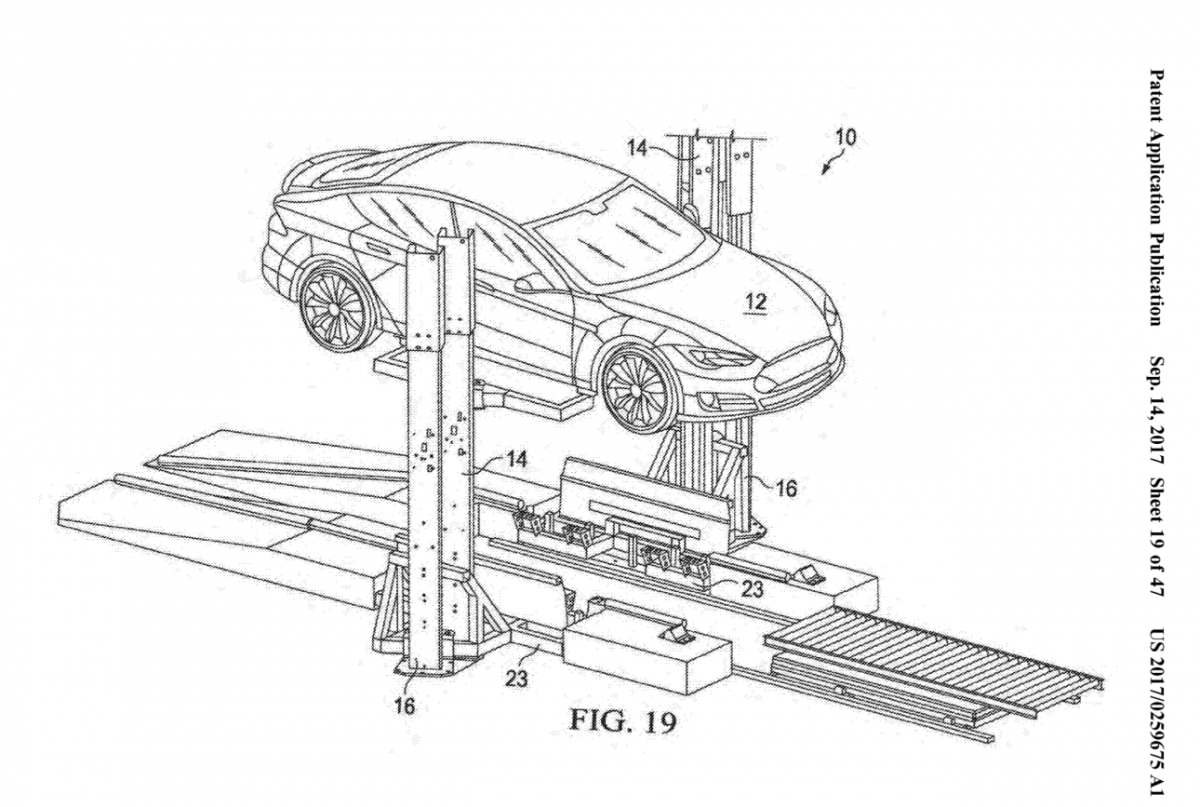 Tesla Patent Reveals Possible Plans For A New Battery