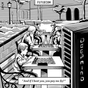 Google deepmind go comic