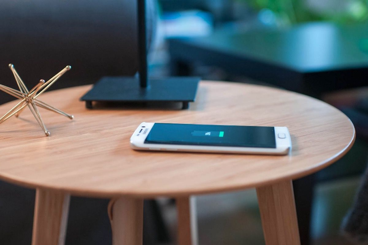 This Wireless Charging Station Table Is The Perfect Blend Of