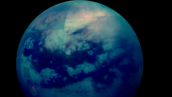 Saturn's Moon Titan is Covered in Earth-Like Lakes