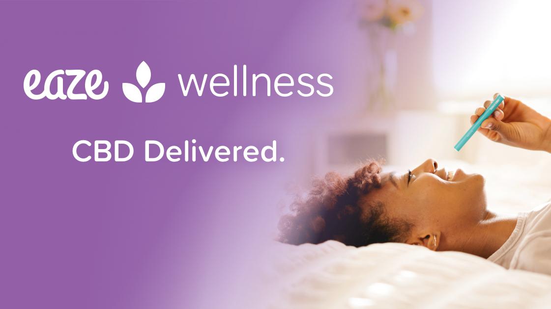 Eaze Wellness CBD delivery.