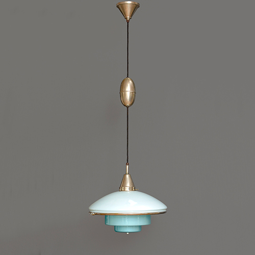 Otto Muller blue lamp