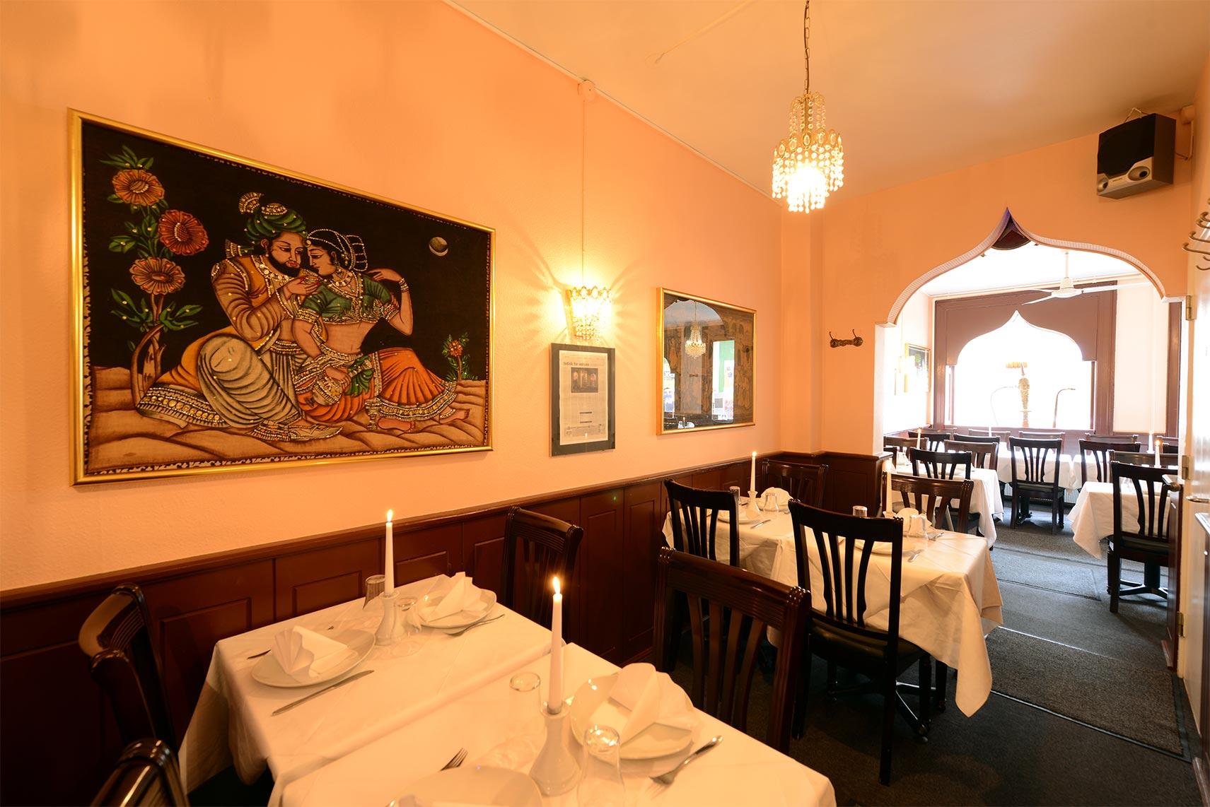 Indisk Restaurant Vesterbro København