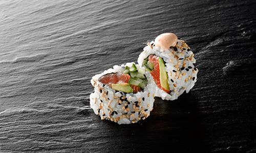 Spicy laks uramaki