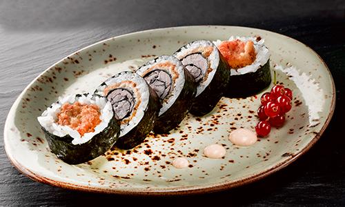 Big tun tempura futomaki