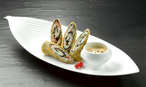 Crab tempura roll