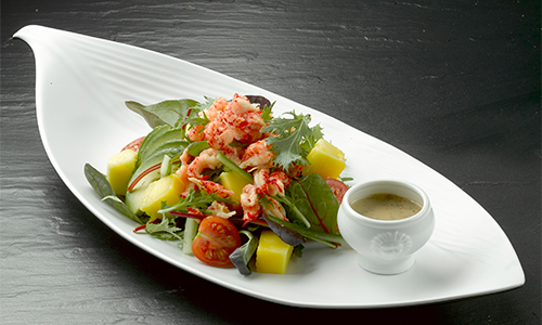 Salat med krabsehaler