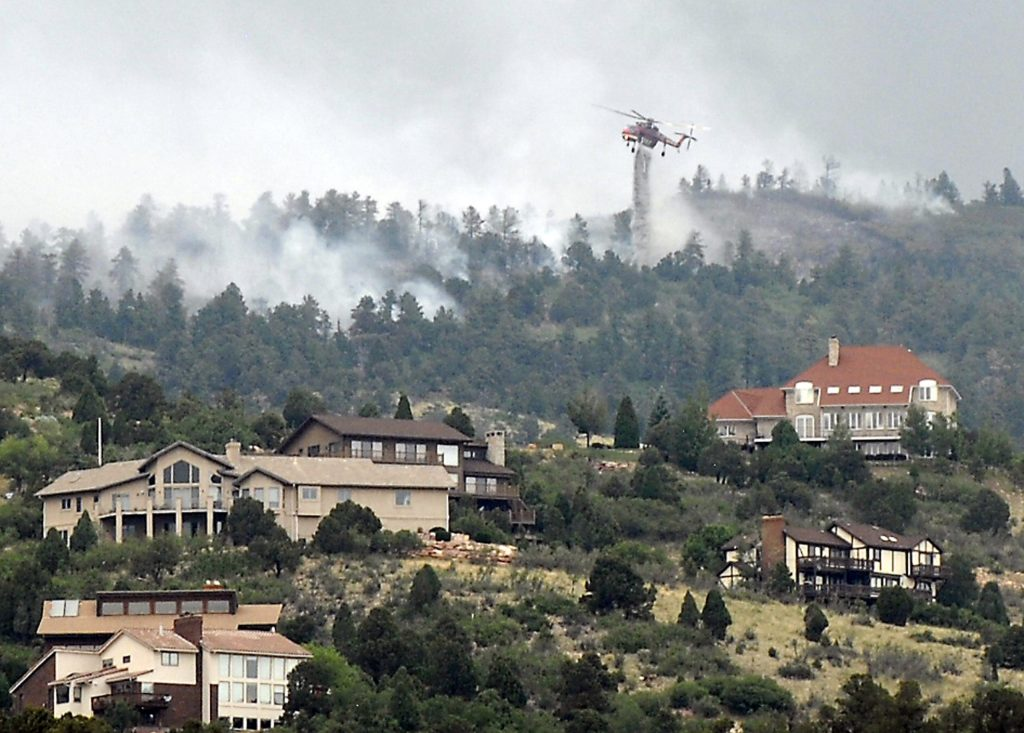 From the Waldo Canyon Fire