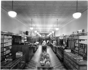 Waymires Store Interior by Stewarts Commercial Photographers,  October 1947. Copyright PPLD. Image Number: 013-1013.