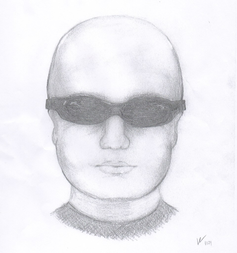 Investigators released this composite sketch of a person they're looking for in relation to an explosion outside a building that includes the offices of the Colorado Springs chapter of the NAACP.