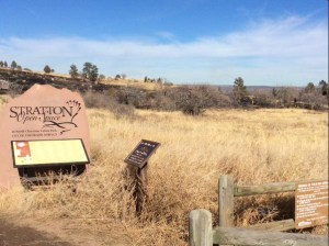 Firefighters put out a 3-acre fire in Stratton Open Space