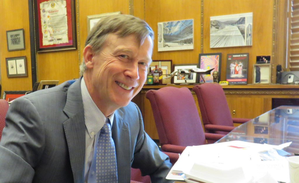 Governor Hickenlooper responds to the work of his oil & gas task force