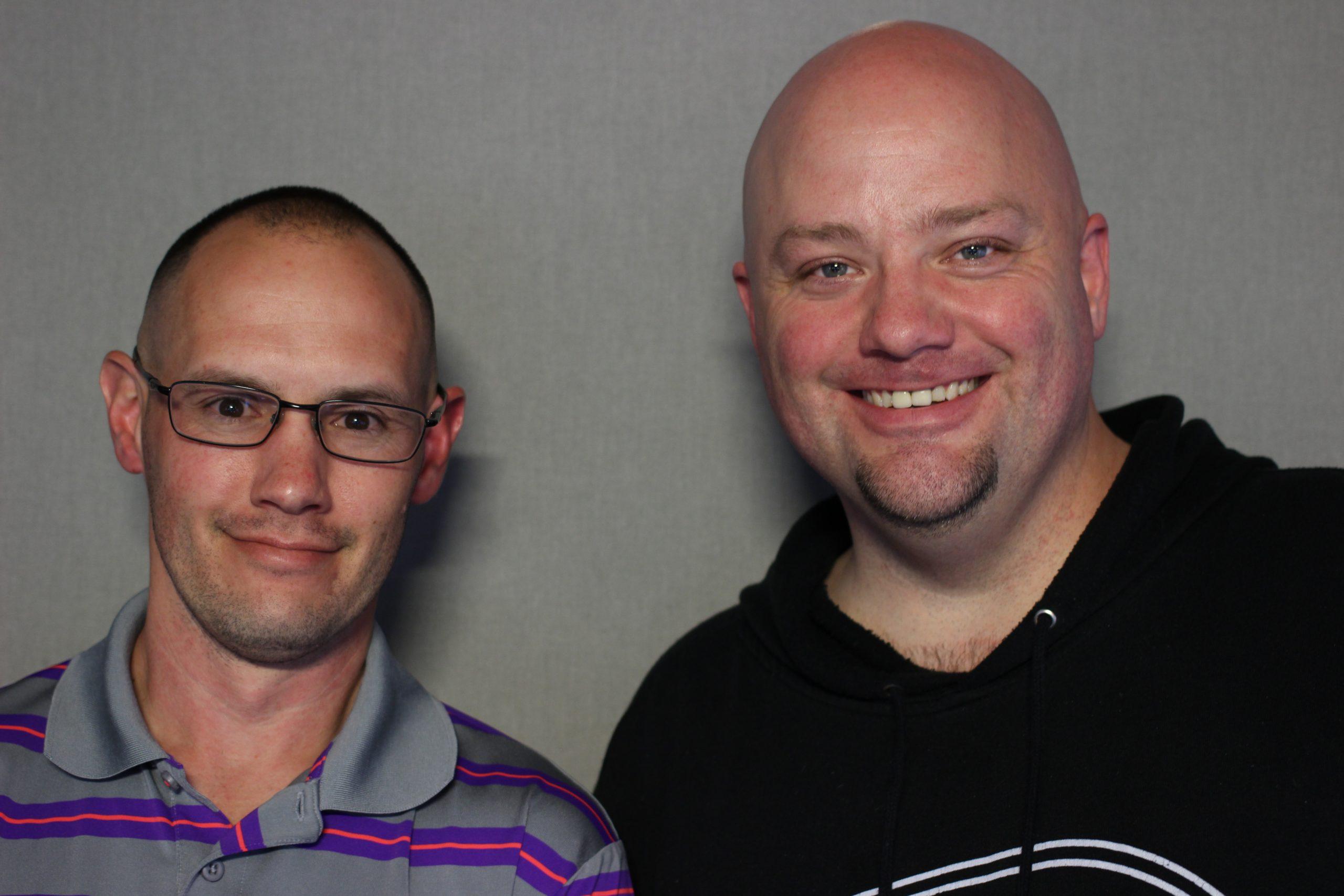 Jason Belcher and Greg Wickherst