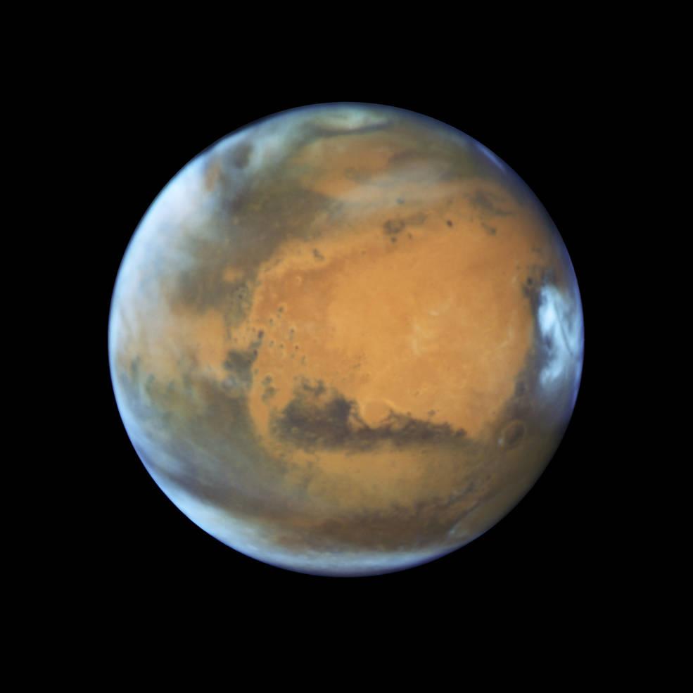 New Hubble portrait of Mars