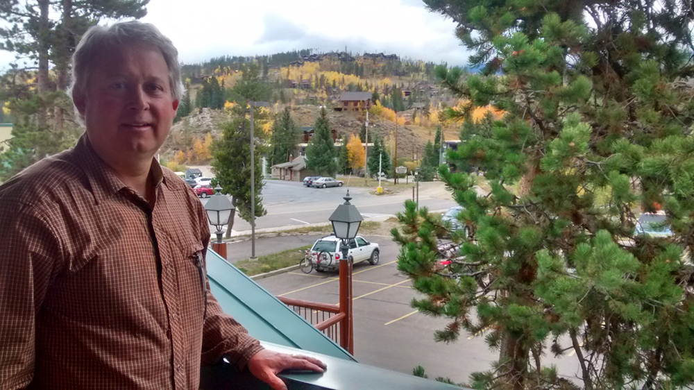 """Dennis Saffell has been a realtor for three decades. """"All of these mountain towns are based on recreation [and] the recreation is all based around the river."""""""