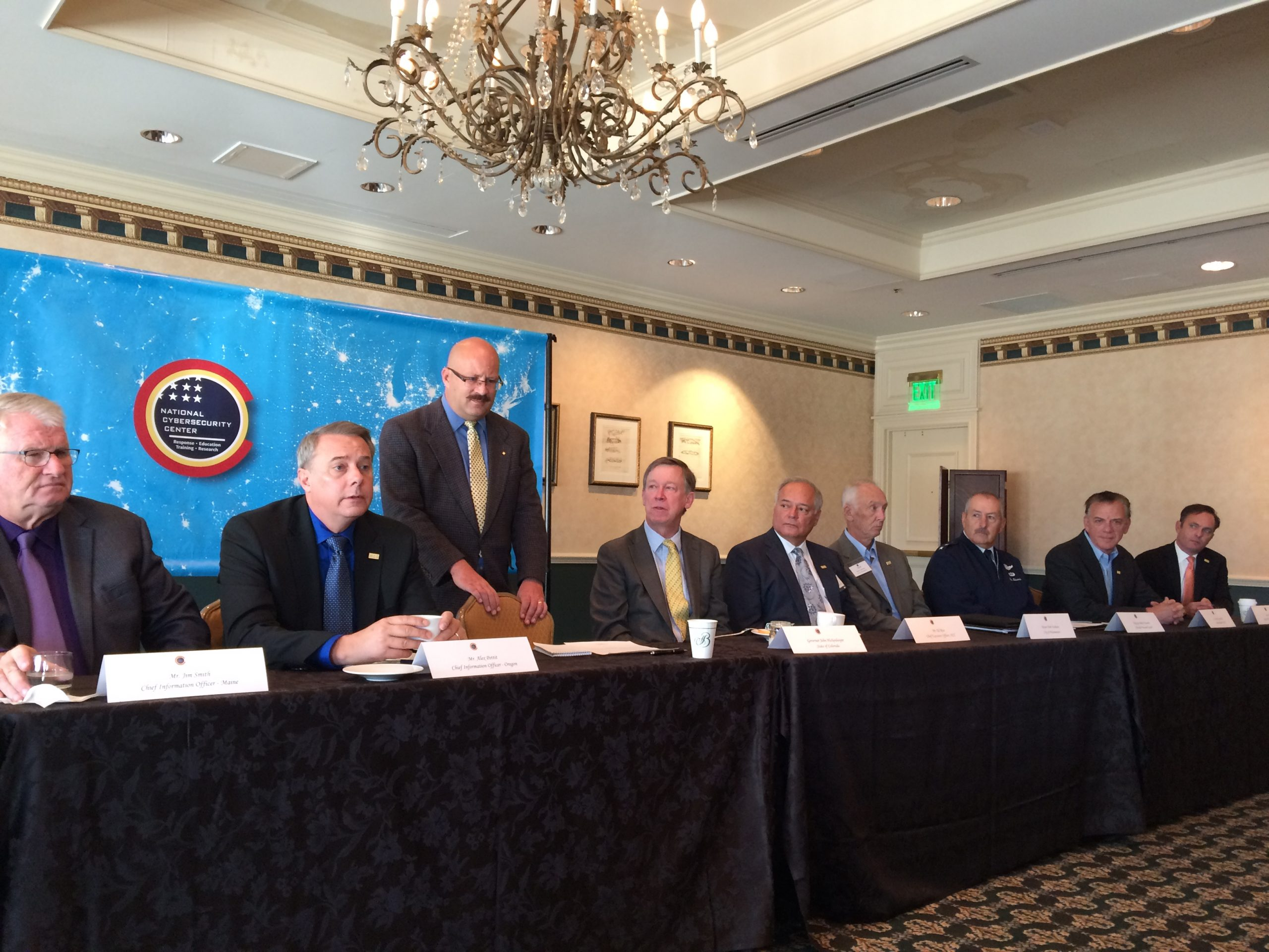 Cybersecurity conference leaders participated in a panel moderated by the Colorado Springs Gazette.