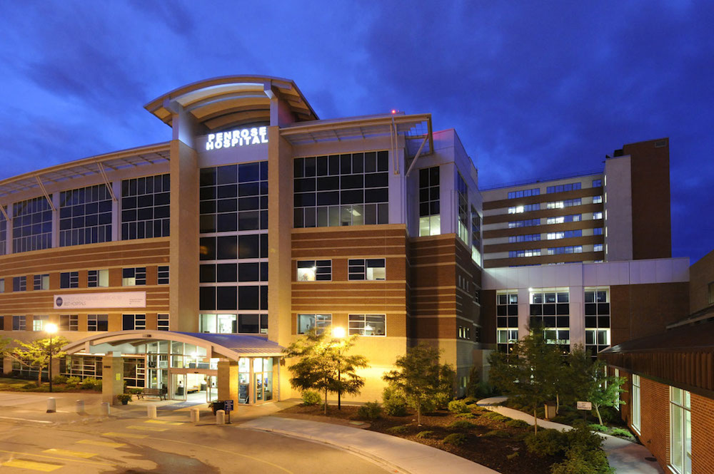 Penrose-St. Francis Hospital is located in Colorado Springs.