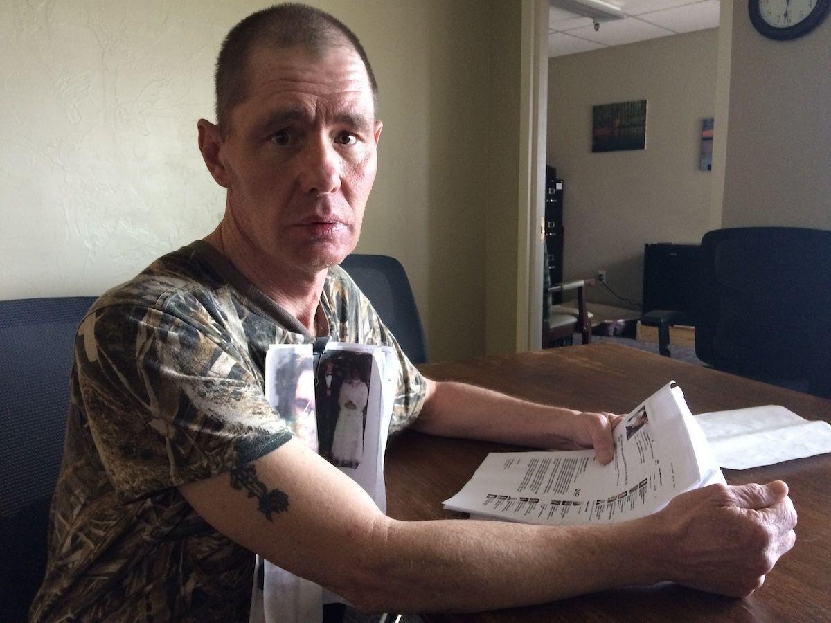 Joe Fisher lives at Cripple Creek Care Center, a private nursing home.