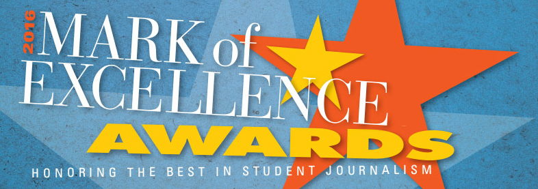 The SPJ Mark of Excellence Awards recognizes the best in student journalism