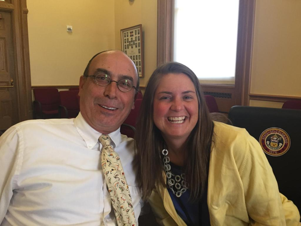 Charles Ashby of the Grand Junction Daily Sentinel and Kristen Wyatt, Associated Press.
