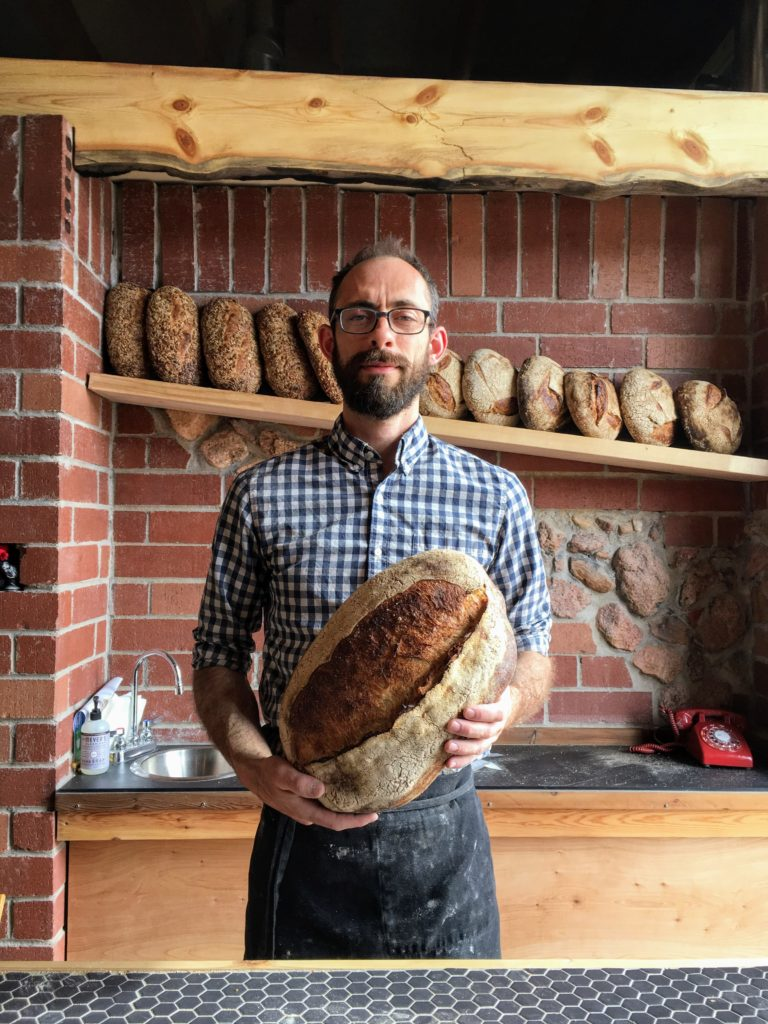 Nightingale Bread owner David McInnis