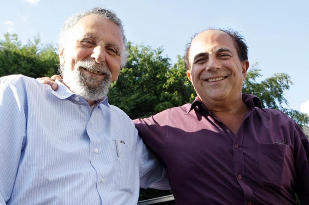 Tom and Ray Magliozzi hosts of NPR's Car Talk