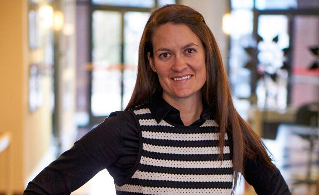 Hillary Hienton, Board President of Rocky Mountain Women's Film Institute.