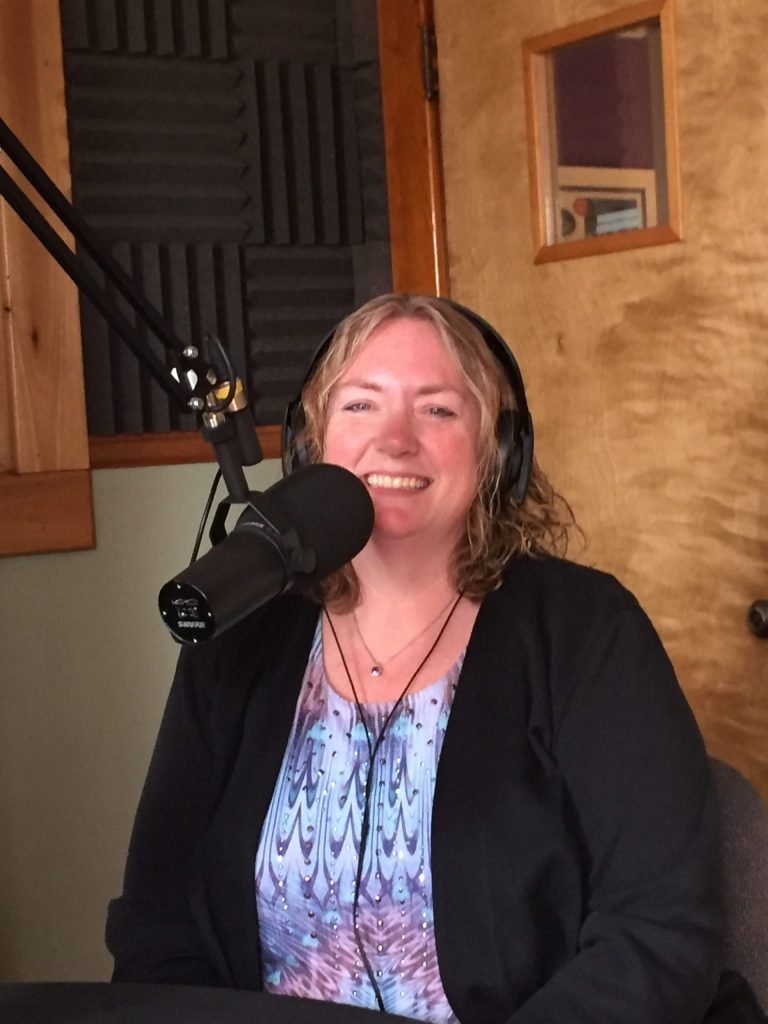 Melissa Cox, volunteer and co-director at Black Forest Animal Sanctuary