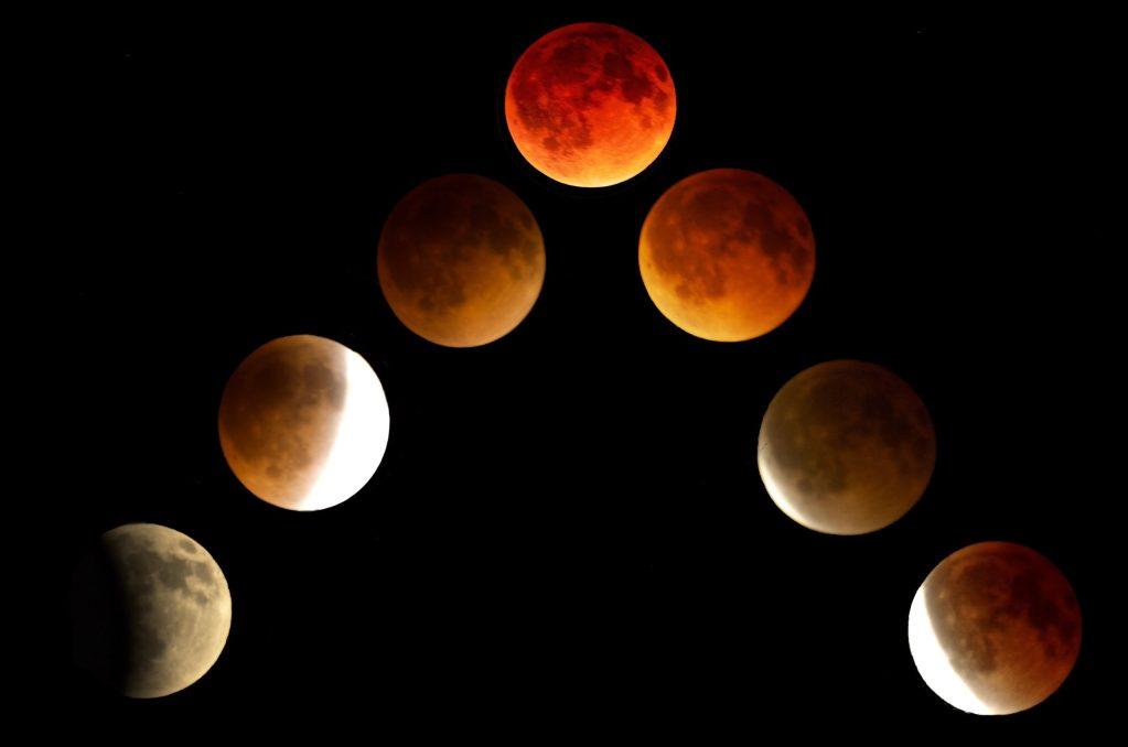 Lunar eclipse April 2015.