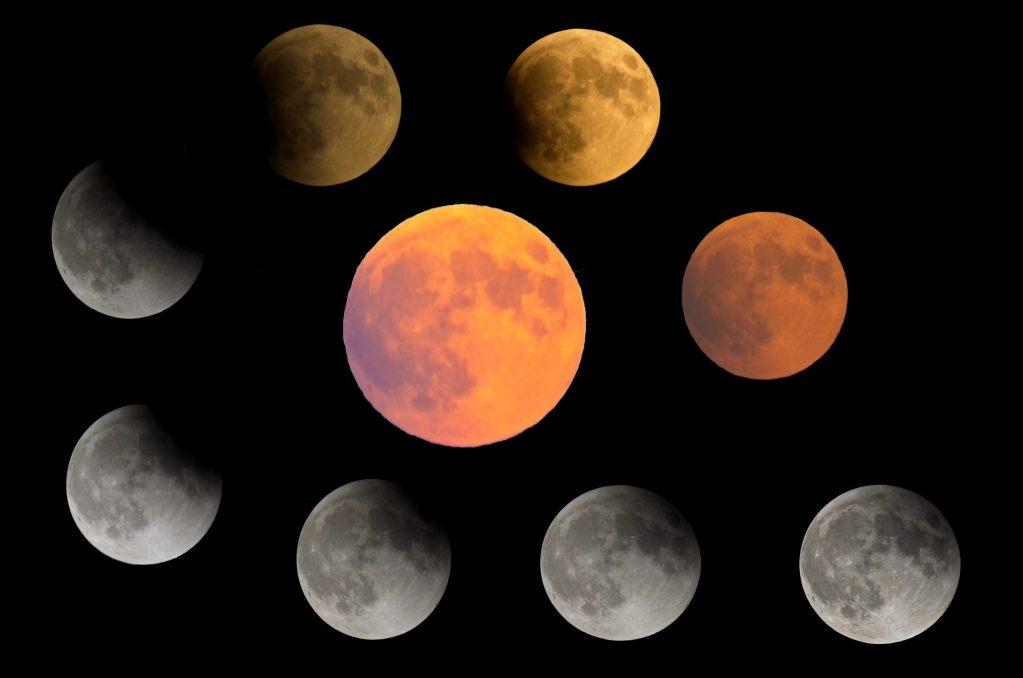 Lunar eclipse September 2015.