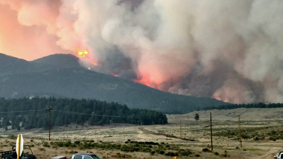 The Spring Fire burning in Huerfano and Costilla Counties has burned more than 103,000 acres as of Thursday, July 5 at 10:00 a.m.