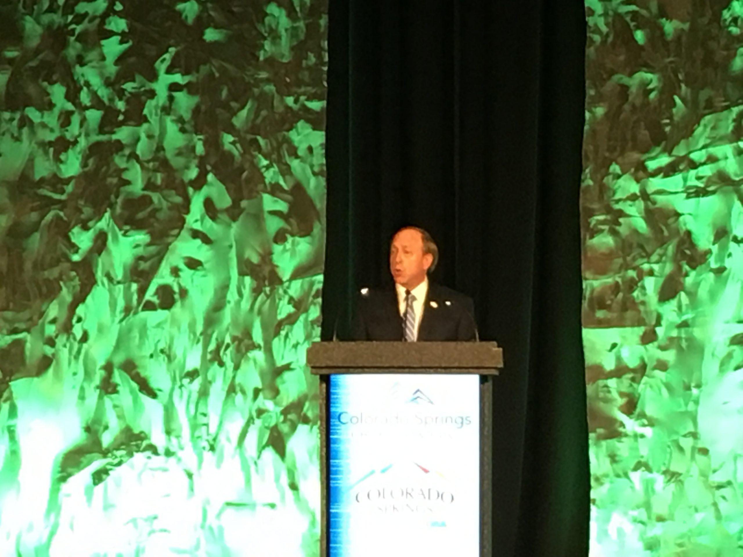 Colorado Springs Mayor John Suthers