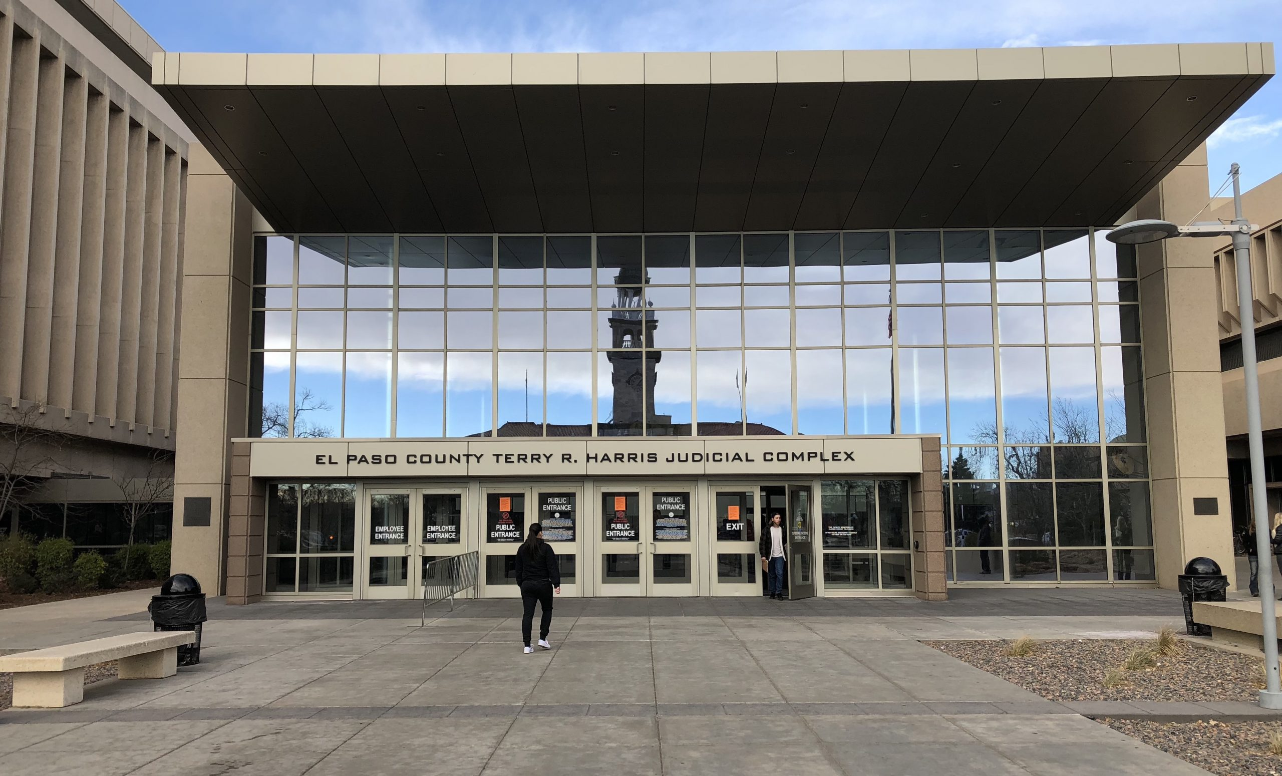 File photo of the El Paso County judicial complex in Colorado Springs.