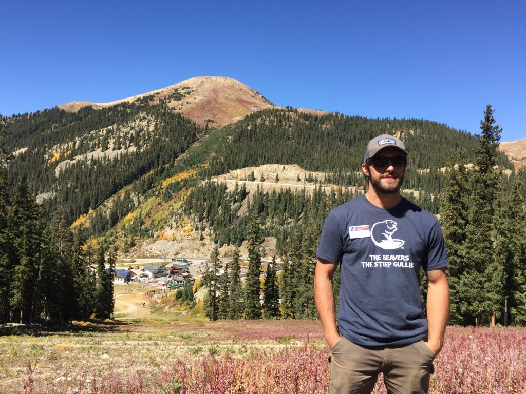 Mike Nathan is the Sustainability Manager at Arapahoe Basin Ski Area
