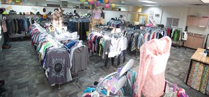 The Hanger, where teens can shop for free.