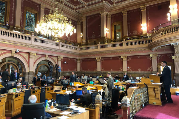 The Colorado Senate narrowly passed the extreme risk protection order bill on Thursday.