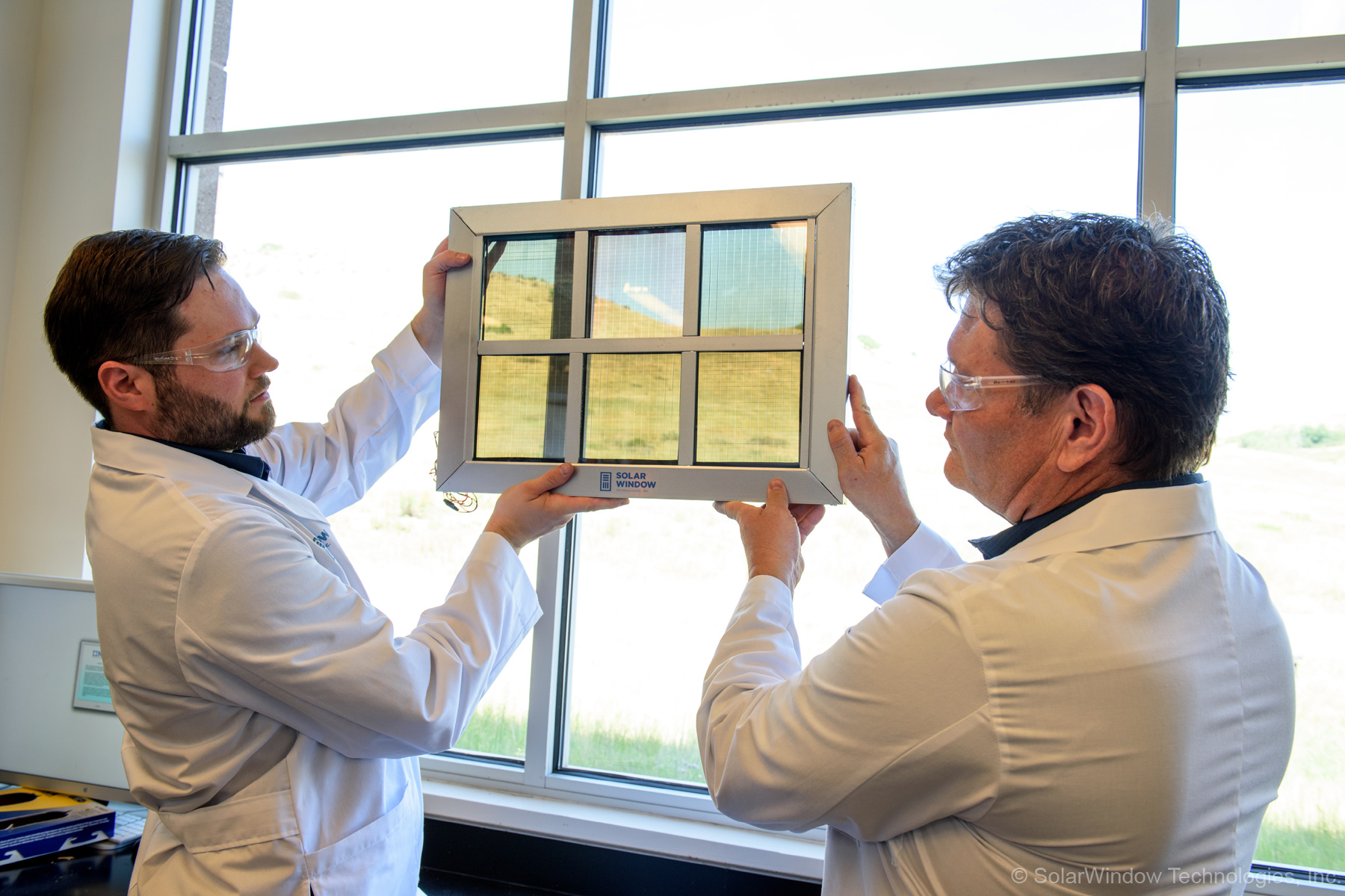 <p>Windows that serveas solar panels could offsetmore than 30 percent of a building's energy usagewhen installed on alarge glass office tower, according toMaryland-based SolarWindow Technologies. The company is developing the technology in partnership with the NationalRenewable Energy Laboratory in Golden. </p>