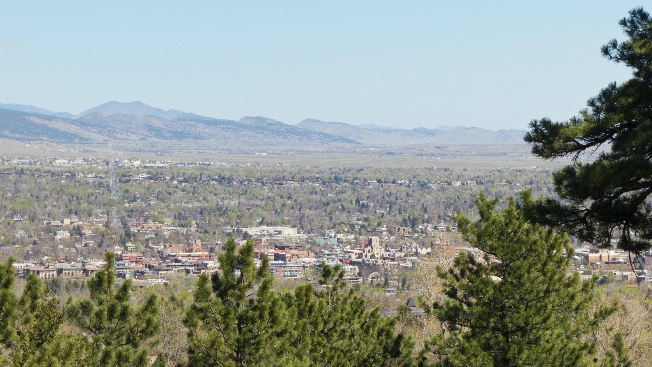 <p>Boulder, Colorado.</p>