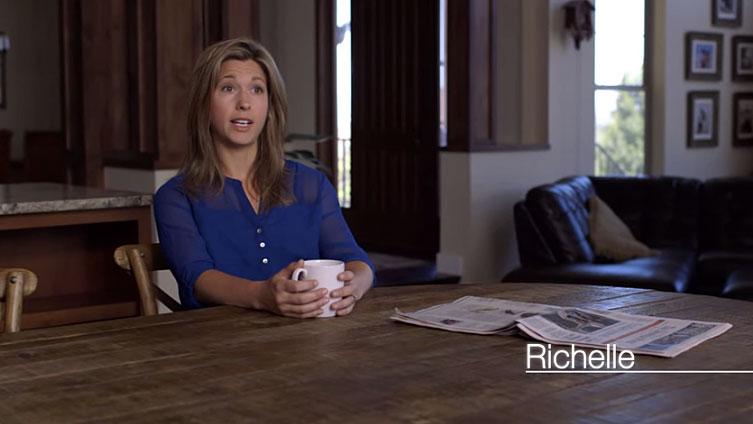 <p>Richelle McKim of Castle Rock, Colo. appears in a new Crossroads GPS advertisement that criticizesDemocratic Sen. Mark Udall.</p>