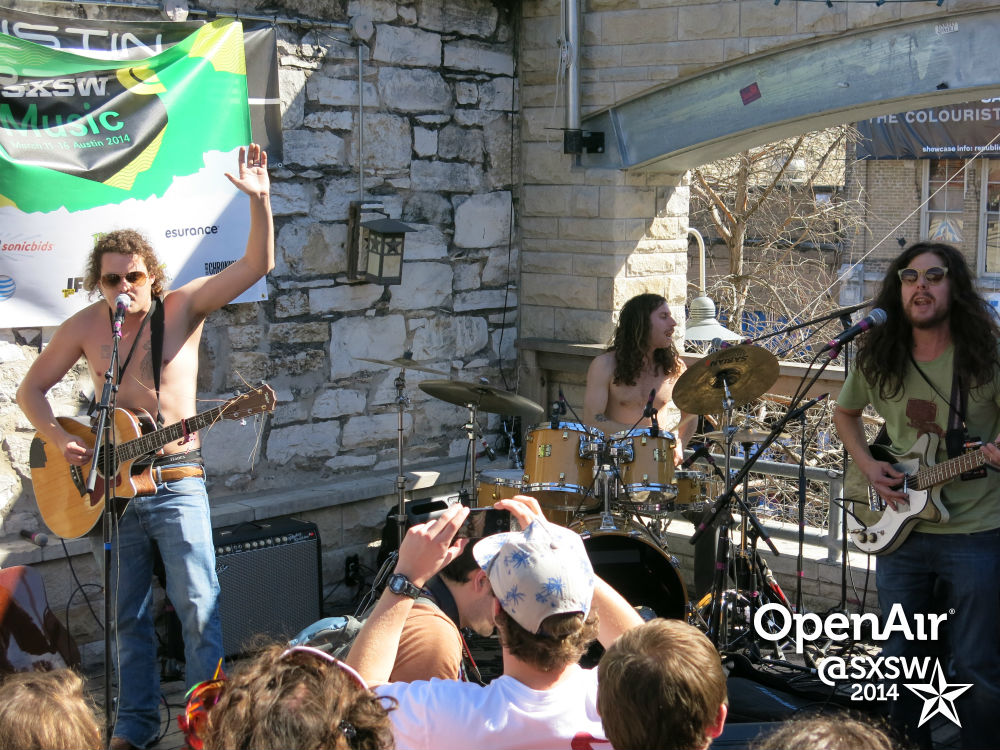 <p>The Yawpers performat the Colorado Music Party at South By Southwest in 2014.</p>