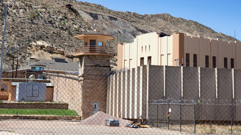 """<p>The Colorado State Penitentiary in Canon City, Colo. was Colorado's first """"supermax"""" prison.</p>"""