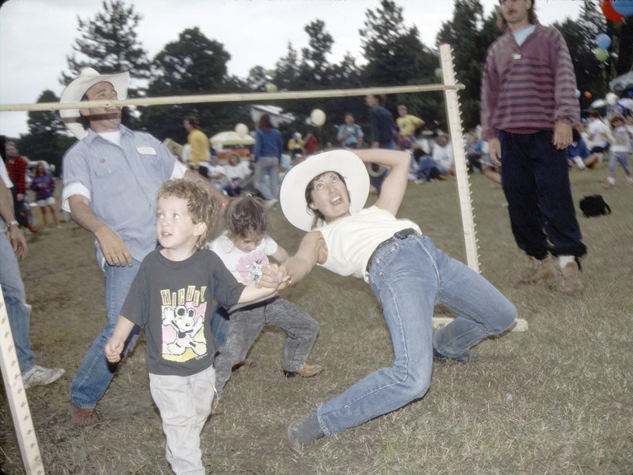 <p>A scene from the 1992 Beer and Steer.</p>